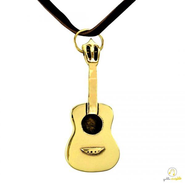 گردنبند طرح گیتار کلاسیک