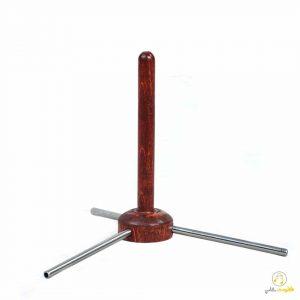 پایه فلوت چوبی مدل F10