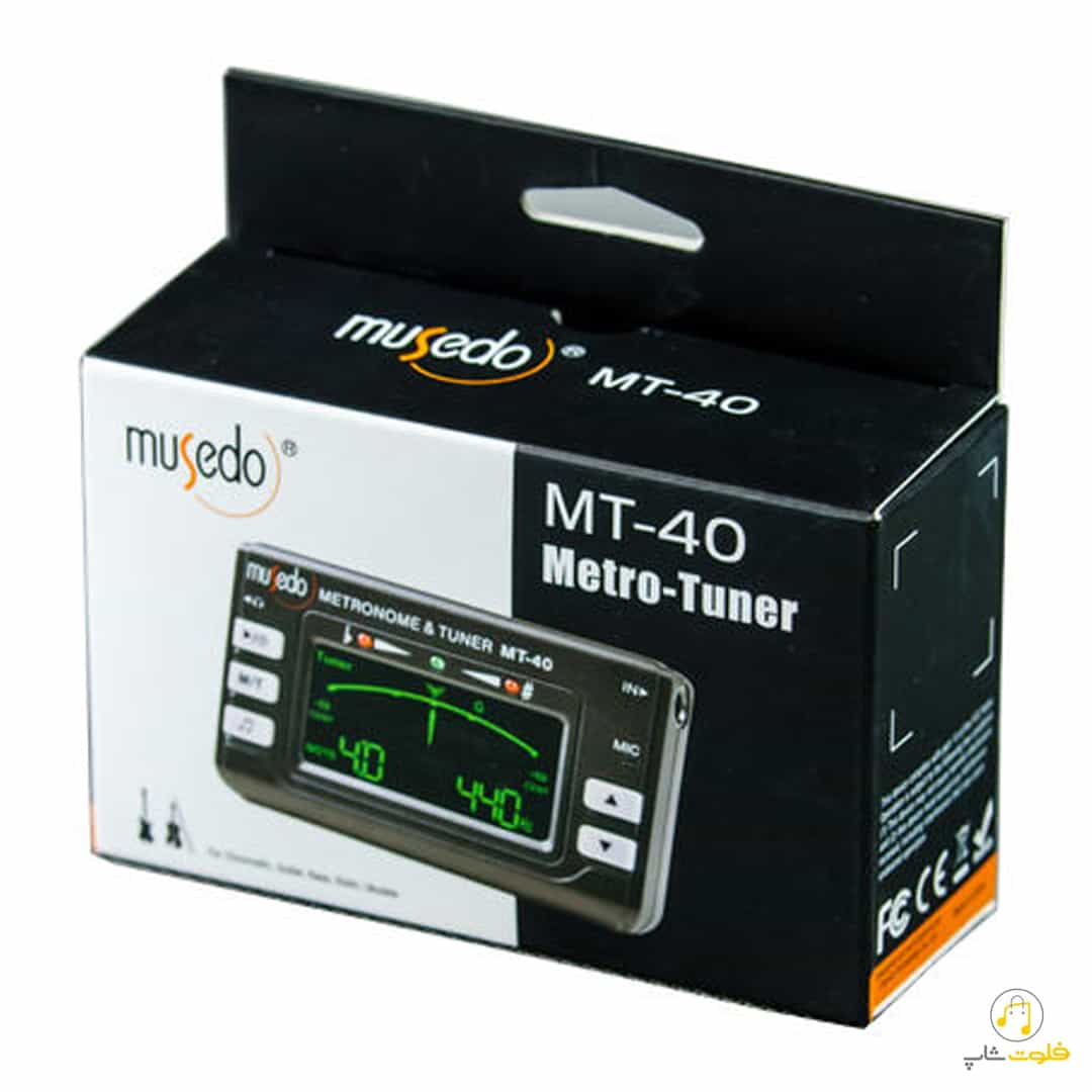 مترونوم و تیونر ماسدو مدل MT40